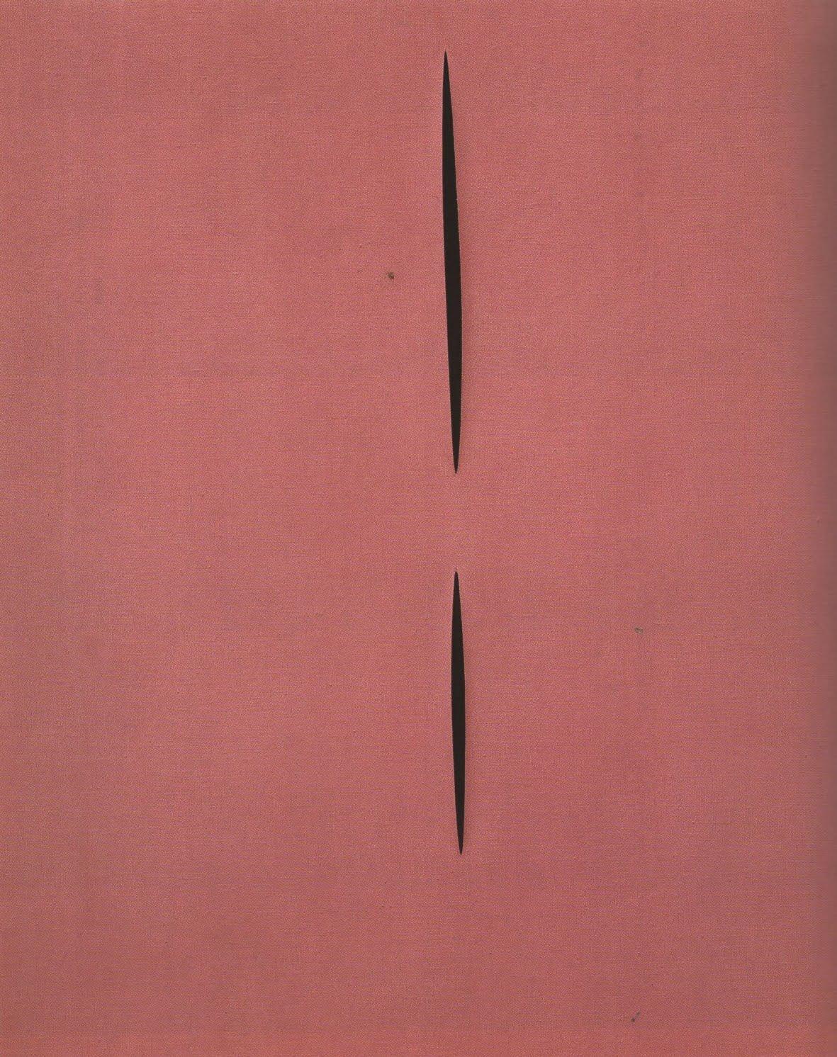Fontana, Concetto Spaziale, Attesa, 1959