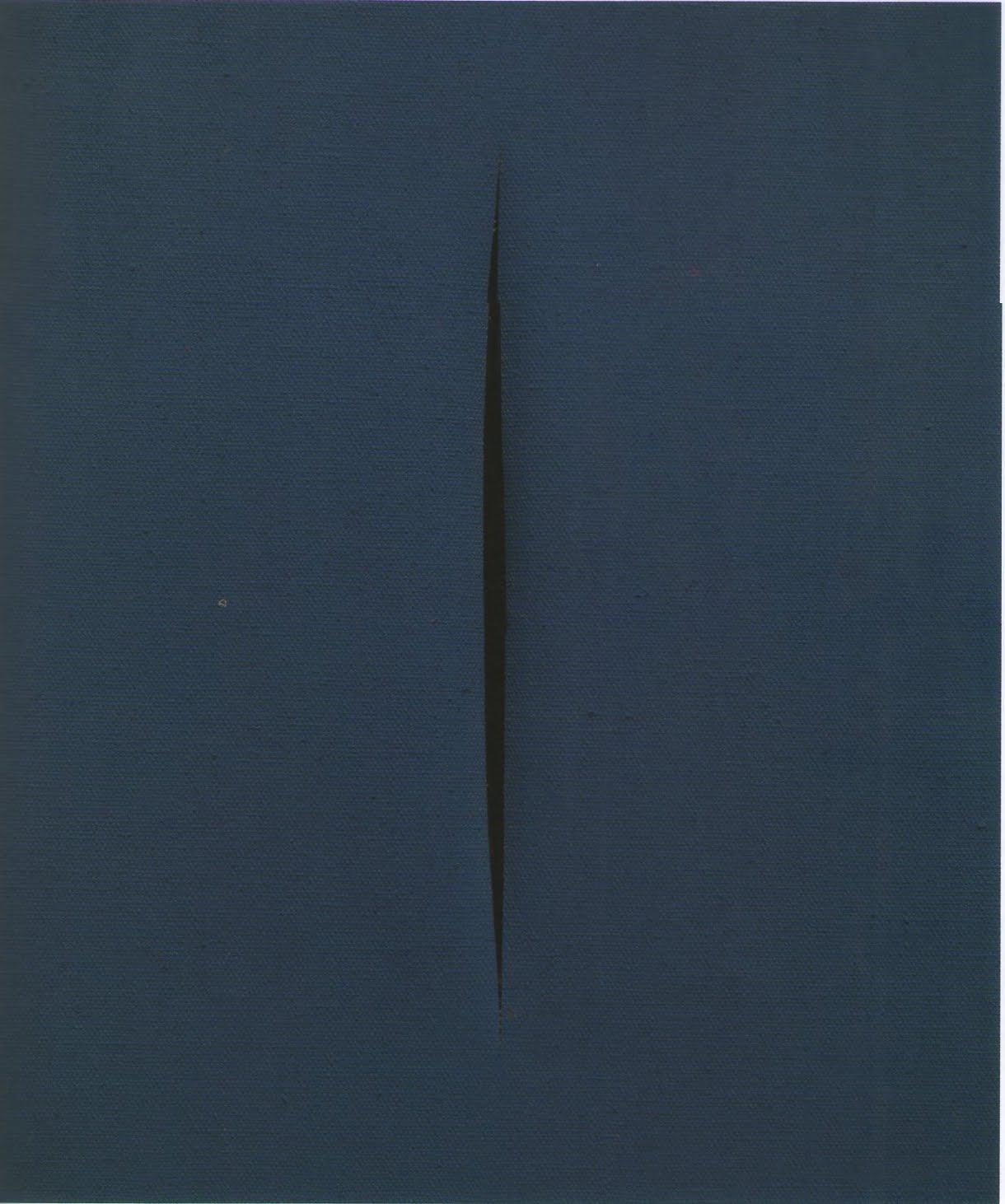 Fontana, Concetto Spaziale, Attesa, 1966
