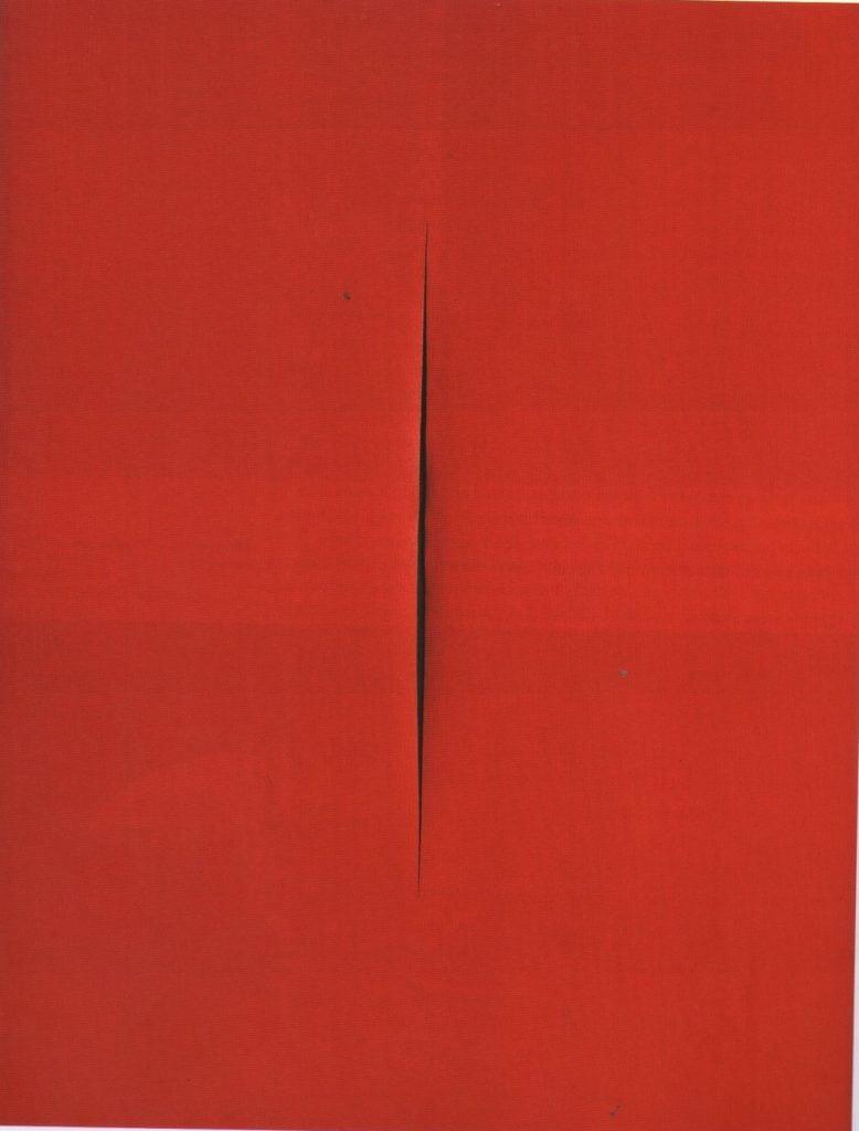 Fontana, Concetto Spaziale, Attesa, 1967