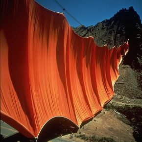 Christo e Jeanne-Claude – Valley Curtain