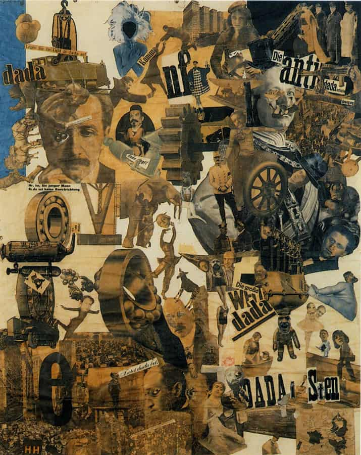 Hannah Höch, Incision With the Dada Kitchen Knife Through Germany's Last Weimar Beer-belly Cultural Epoch, 1920