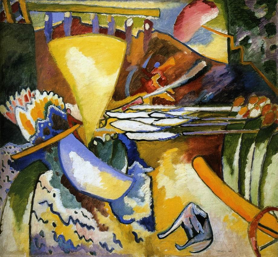 Kandinsky, Improvisação 11, 1910