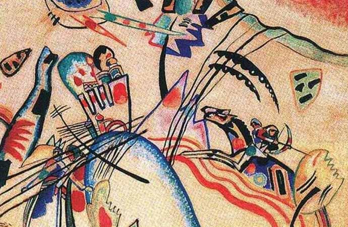 Kandinsky, Improvisação, 1913