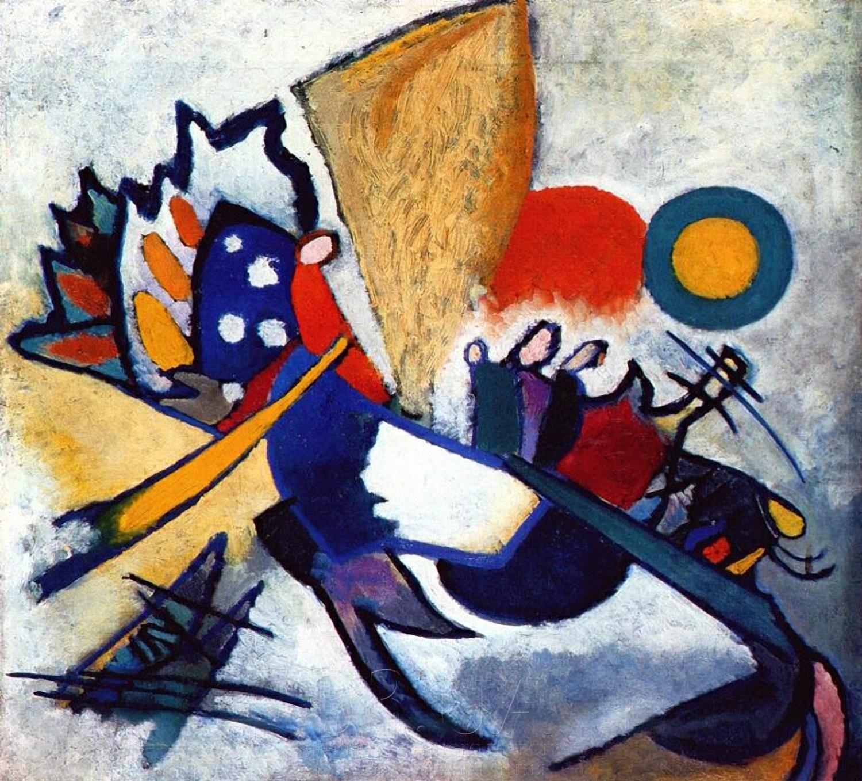 Kandinsky, Improvisação, 209, 1917