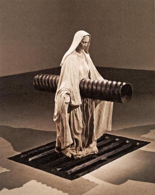 Robert Gober - Madonna, 1997