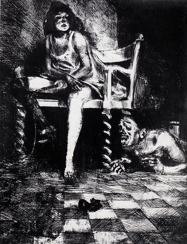 Schulz - Desenho [A Besta] 1920