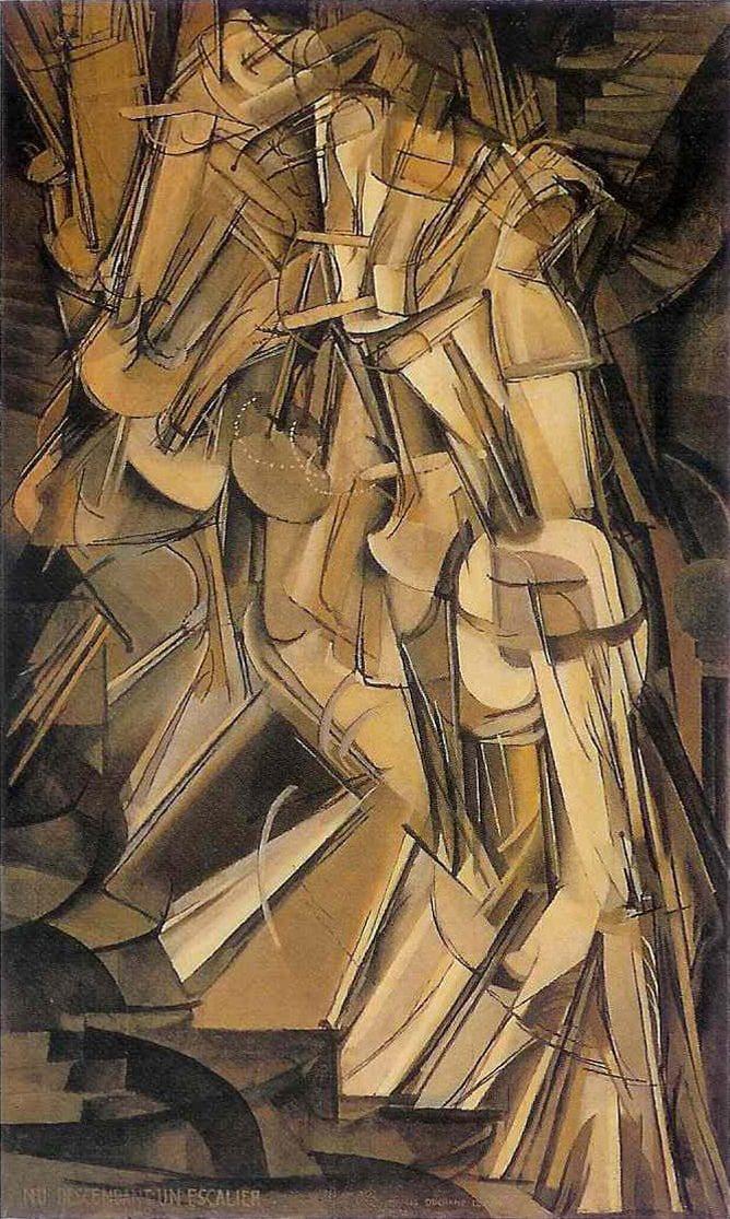 Duchamp - Nu descendant un escalier no.2