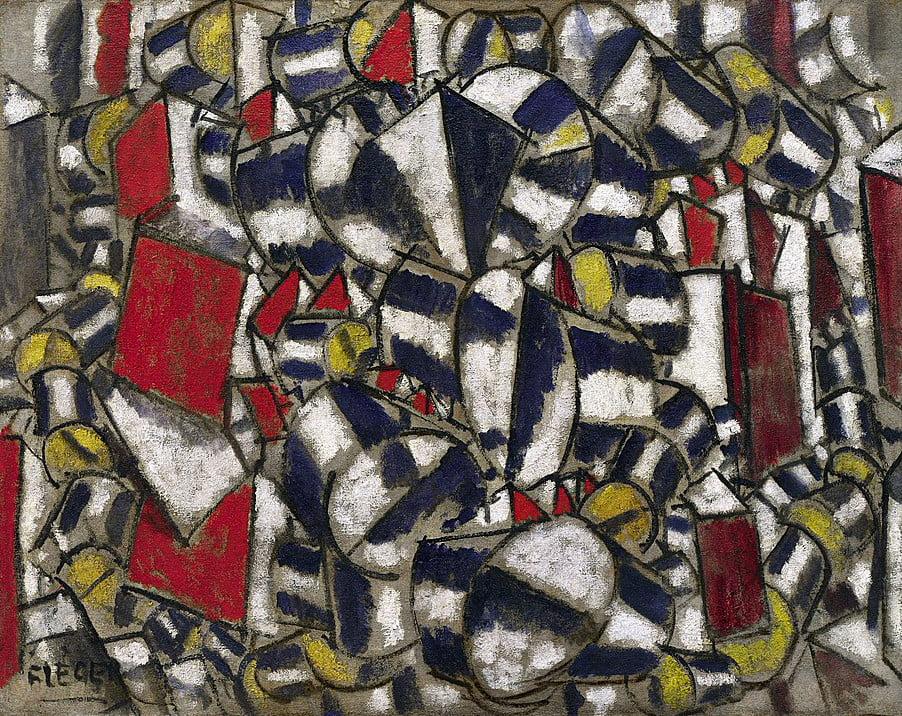 Fernand Léger - Contraste de formes (1913)