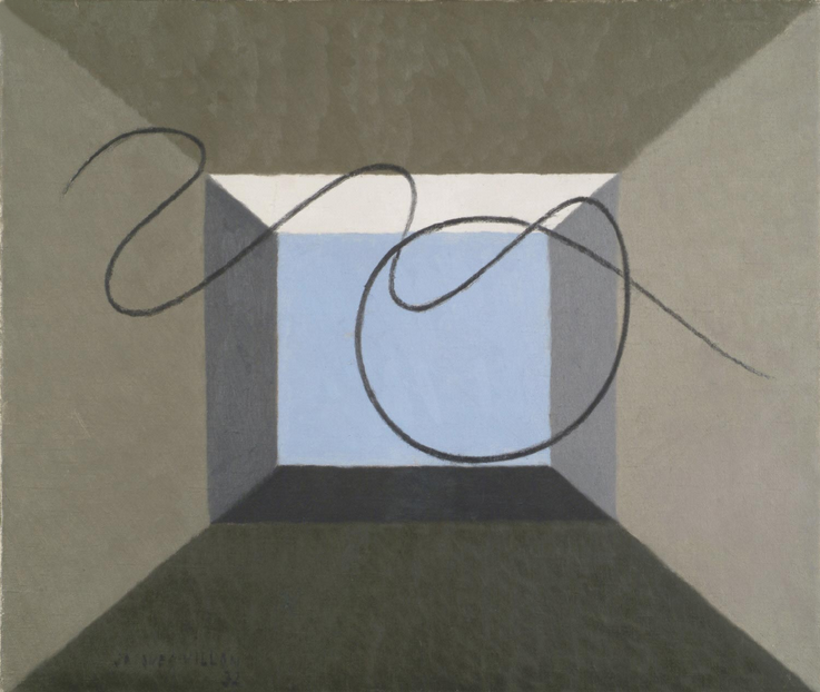 Jacques Villon - Abstraction (1932)
