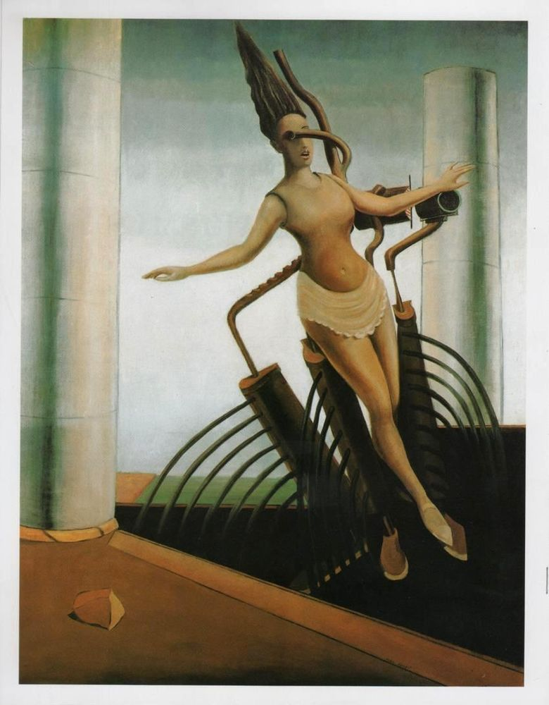Max Ernst- The Tottering Woman