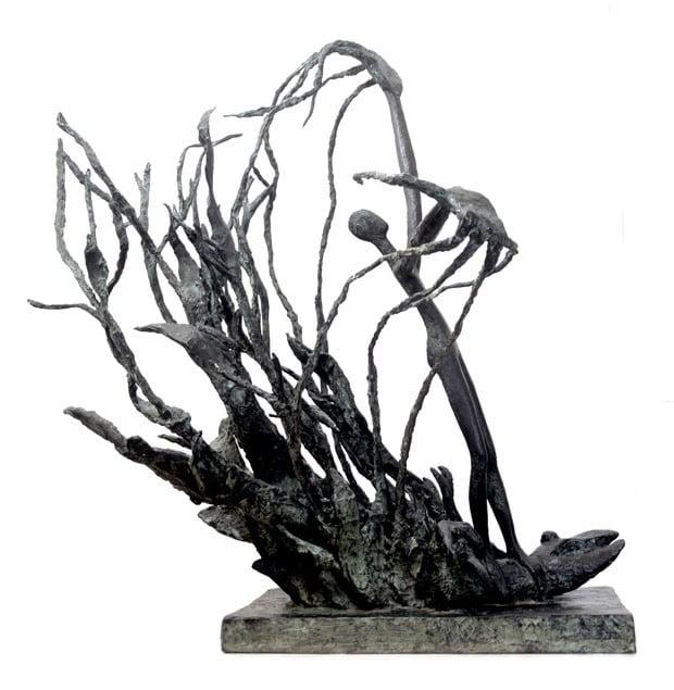 Prometheus II, 1948, Bronze 105x75x96 cm
