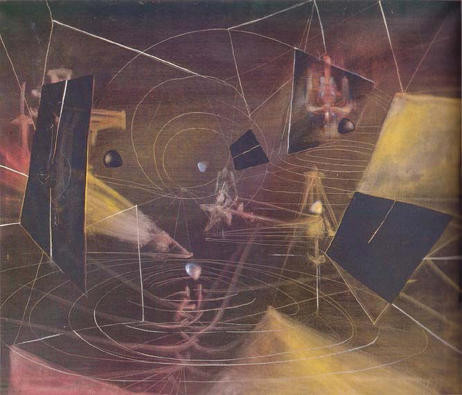 Roberto Matta - The Displaced Continent (1944)