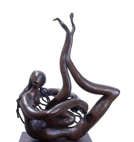 Saudade, 1945, bronze, 56,5x31x41cm