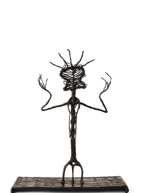 Tamba-tajá, 1945, bronze, 58,5x39x40,5 cm