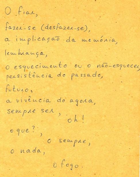 Hélio Oiticica poema 2